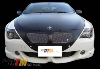 DTM Fiberwerkz - BMW 6 Series DTM Fiberwerkz ACS Style Front Apron - E63/E64-ACS