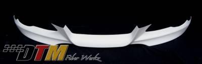 DTM Fiberwerkz - BMW 3 Series DTM Fiberwerkz M-Tech Style Front Lip - E92Mtechfron