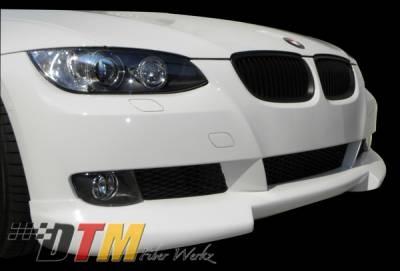 DTM Fiberwerkz - BMW 3 Series 2DR DTM Fiberwerkz RG Style Front Lip - E92-RG-STYLE
