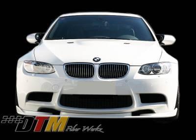 DTM Fiberwerkz - BMW 3 Series DTM Fiberwerkz HM Style Front Lip - E9XHMF
