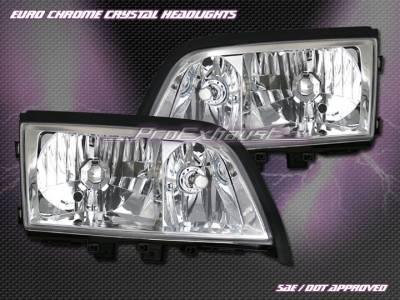 Motor Blvd - Chrome Crystal Headlights W202
