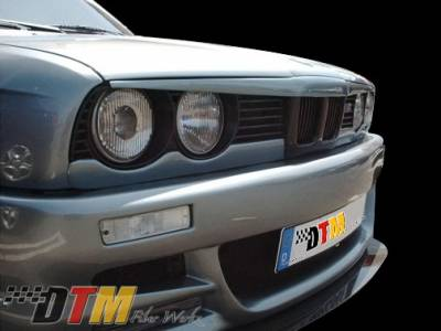 DTM Fiberwerkz - BMW 3 Series DTM Fiberwerkz Lower Eyelids - E30 Lower Ey