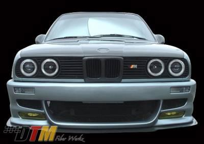 DTM Fiberwerkz - BMW 3 Series DTM Fiberwerkz M5 E39 Style Front Bumper - E30 M5 E39 F