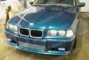 FX Designs - BMW 3 Series FX Design M3 Style Front Bumper Cover - FX-192