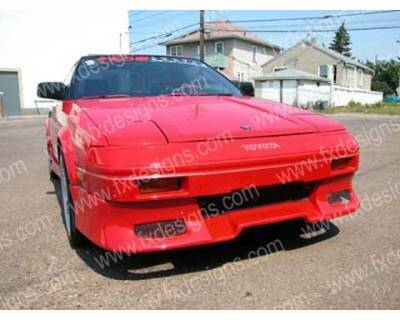 FX Design - Toyota MR2 FX Design Front Air Dam - FX-400