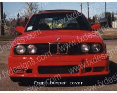 FX Designs - BMW 3 Series FX Design Front Bumper Cover - FX-723