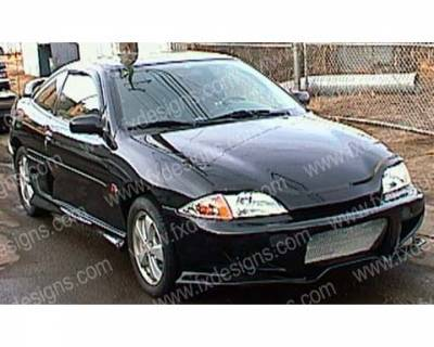 FX Designs - Chevrolet Cavalier FX Design VS Combat Style Front Bumper - FX-745