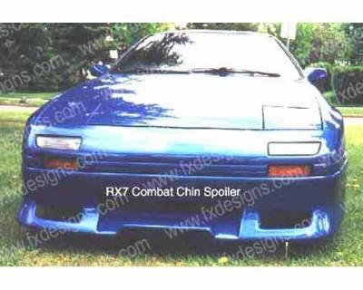 FX Design - Mazda RX-7 FX Design Front Air Dam - FX-798