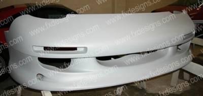 FX Designs - Mazda RX-7 FX Design Front Bumper Cover - FX-906