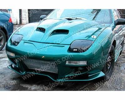 FX Designs - Pontiac Sunfire FX Design VS Style Front Bumper Cover - FX-911