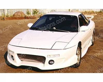 FX Designs - Ford Probe FX Design Rally Style Front Bumper Cover - FX-914
