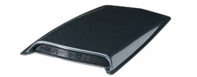 Lund - GMC Canyon Lund Hood Scoop - Large - 80004