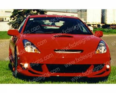 FX Design - Toyota Celica FX Design Front Bumper - FX-970