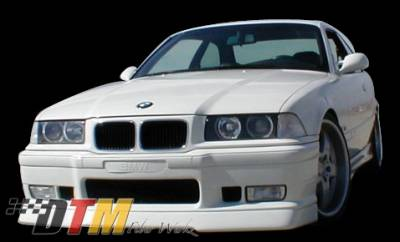 DTM Fiberwerkz - BMW 3 Series DTM Fiberwerkz M3 RG Infinity Style Front Lip - E36 M3 RG In
