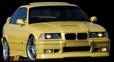 DTM Fiberwerkz - BMW 3 Series DTM Fiberwerkz RG Infinity Style Front Bumper - E36 RG Infin
