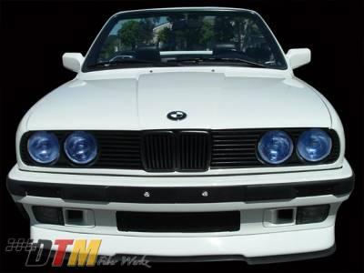 DTM Fiberwerkz - BMW 3 Series DTM Fiberwerkz RG Infinty Style Front Lip - E30 RG Infin