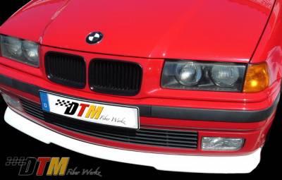 DTM Fiberwerkz - BMW 3 Series DTM Fiberwerkz RG Infinty Style Front Lip - E36 RG Infin