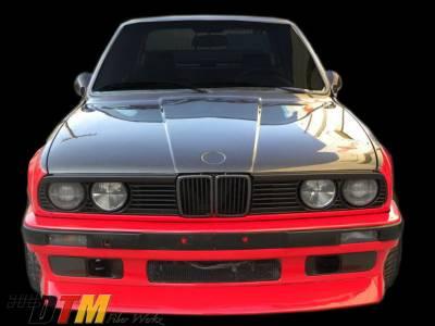 DTM Fiberwerkz - BMW 3 Series DTM Fiberwerkz Evo Style Front Lip - E30 Evo S