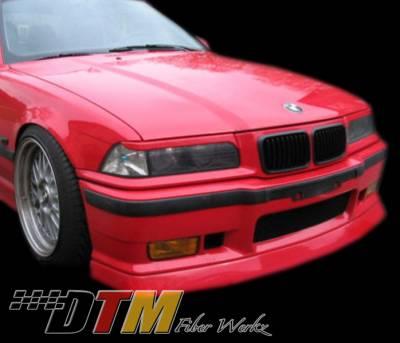 DTM Fiberwerkz - BMW 3 Series DTM Fiberwerkz M3 DTM Style Front Lip - E36 M3 DTM S