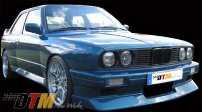 DTM Fiberwerkz - BMW 3 Series DTM Fiberwerkz M3 Evo Style Front Bumper - E30 M3 Evo S