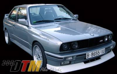 DTM Fiberwerkz - BMW 3 Series DTM Fiberwerkz M3 Evo Style Front Lip - E30 M3 Evo S