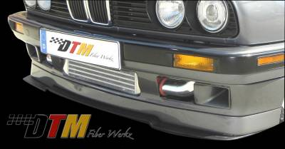 DTM Fiberwerkz - BMW 3 Series DTM Fiberwerkz IS Style Front Splitter - E30 IS Split