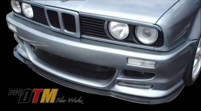 DTM Fiberwerkz - BMW 3 Series DTM Fiberwerkz M5 E39 Style Front Splitter - E30 M5 Split