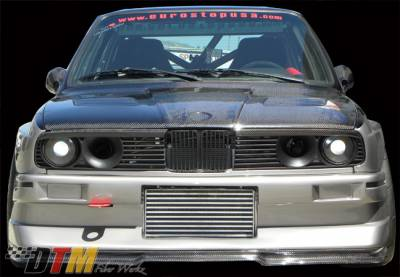 DTM Fiberwerkz - BMW 3 Series DTM Fiberwerkz Evo R Style Front Bumper - E30 Evo R St