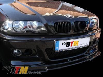 DTM Fiberwerkz - BMW 3 Series DTM Fiberwerkz M3 RG Style Front Lip - E46 M3 RG St
