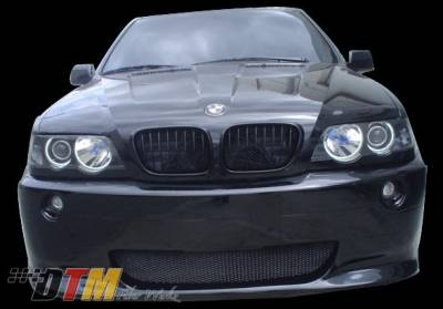 DTM Fiberwerkz - BMW X5 DTM Fiberwerkz M5 Style Front Bumper - X5 E53 M5 St
