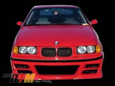 DTM Fiberwerkz - BMW 3 Series DTM Fiberwerkz DTM Style Front Bumper - E36 DTM Styl
