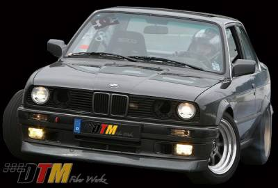 DTM Fiberwerkz - BMW 3 Series DTM Fiberwerkz DTM Style Front Lip - E30 DTM Styl