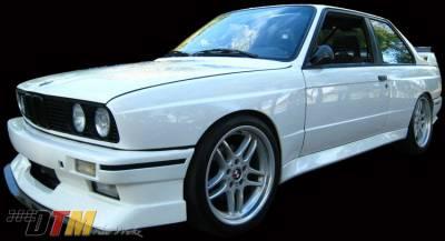 DTM Fiberwerkz - BMW 3 Series DTM Fiberwerkz Evo Style Front Bumper - E30 Evo Styl