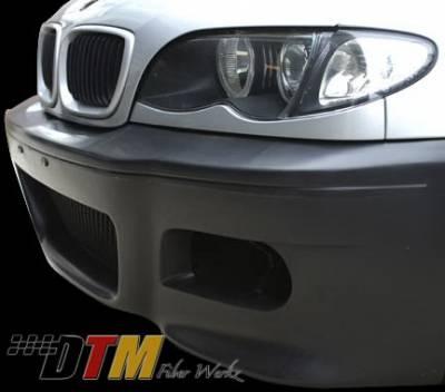 DTM Fiberwerkz - BMW 3 Series DTM Fiberwerkz M3 Style Front Bumper - E46 M3 Style