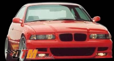 DTM Fiberwerkz - BMW 3 Series DTM Fiberwerkz M5 Style Front Bumper - E36 M5 Style