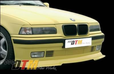 DTM Fiberwerkz - BMW 3 Series DTM Fiberwerkz RG Style Cup Lip - E36 RG Style