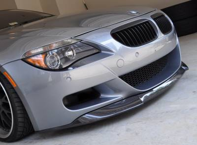 DTM Fiberwerkz - BMW 6 Series DTM Fiberwerkz VRS Style Front Lip - E63/E64 VRS