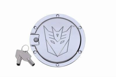 Defenderworx - Chevrolet Camaro Defenderworx Transformers Decepticon Locking Fuel Door - Two Tone - Two-Tone - TC1005