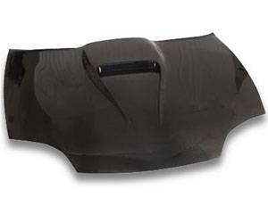 JSP - Chevrolet Cavalier JSP S-Scoop Style Carbon Fiber Hood - CFH015S