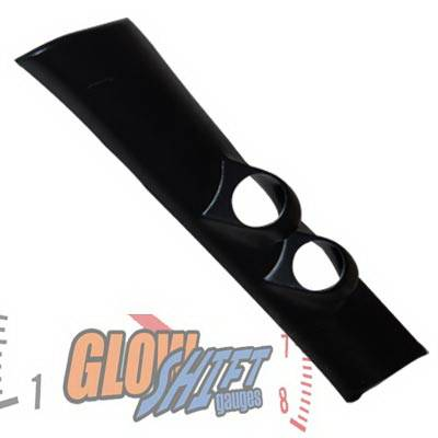 Glow Shift - Chevrolet S10 Glow Shift Full Size Dual Gauge Pillar Pod - GS-92074