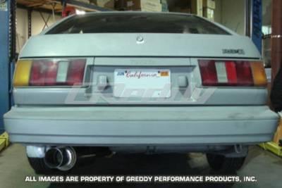 Greddy - Toyota Corolla Greddy Racing Ti-C Catback Exhaust System - 10117905