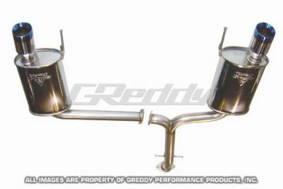 Greddy - Lexus IS Greddy Spectrum Elite Exhaust System with Dual Mufflers - 10117952