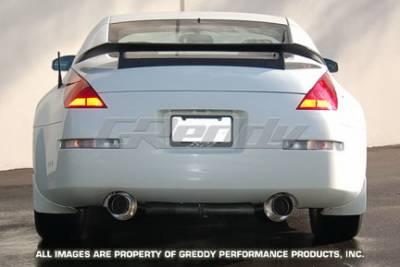 Greddy - Nissan 350Z Greddy Turbo Racing Ti-C Catback Exhaust System with Dual Mufflers - 10127906