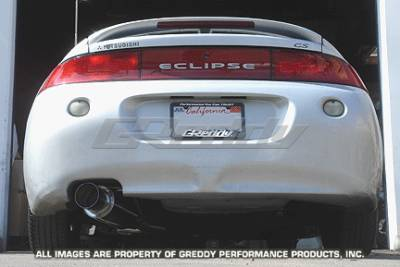 Greddy - Mitsubishi Eclipse Greddy Racing Ti-C Catback Exhaust System - 10137905