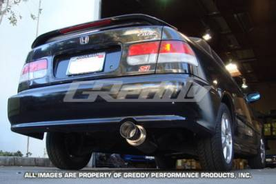 Greddy - Honda Civic Greddy Racing Ti-C Catback Exhaust System - 10157905