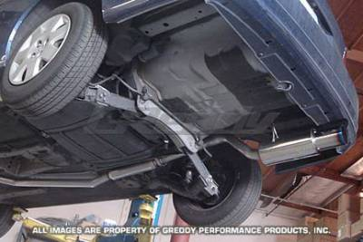 Greddy - Honda Civic Greddy Racing Ti-C Catback Exhaust System - 10157906