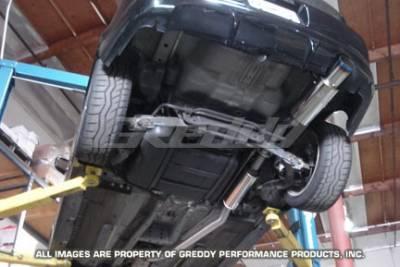 Greddy - Acura RSX Greddy Turbo Racing Ti-C Catback Exhaust System - 10157914