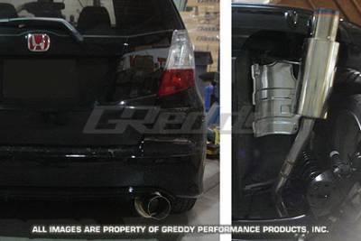Greddy - Honda Fit Greddy Racing Ti-C Catback Exhaust System - 10157919