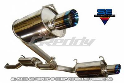 Greddy - Honda S2000 Greddy Spectrum Elite Exhaust System with Dual Mufflers - 10157963