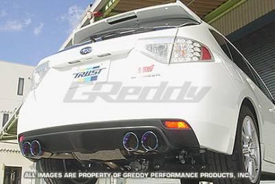Greddy - Subaru WRX Greddy Spectrum Elite Exhaust System - 10167952